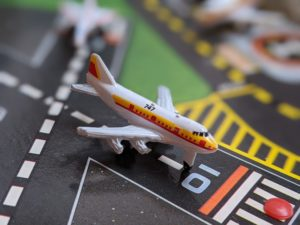 Boeing 747 - The Aircraft 2 - Micro Machines - Galoob, 1987