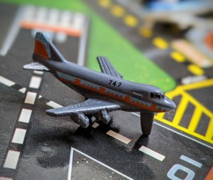 Boeing 747 - Sun Color Changer #6 - Micro Machines - Galoob, 1990