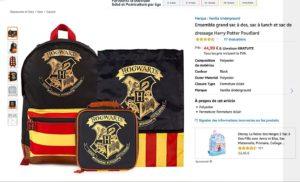 Un ensemble Harry Potter