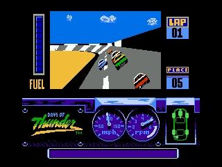 Days Of Thunder - Nes (Beam Software - Mindscape, 1990)