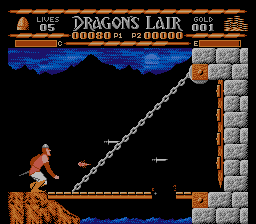 Sullivan Bluth Presents Dragon S Lair - Nes (Movietime - CSG Imagesoft, 1990)