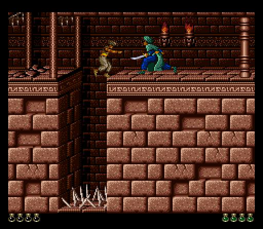 Prince Of Persia - SNES (Konami, 1992)