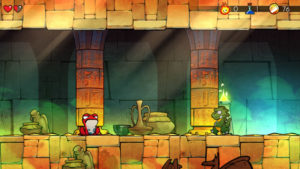 Wonder Boy : The Dragon's Trap - PS4 (LizardCube - DotEmu, 2017)