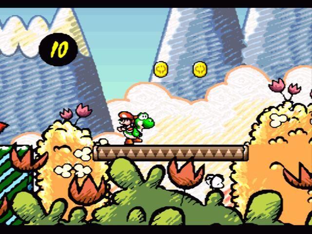 Super Mario World 2 : Yoshi's Island - Snes (Nintendo, 1995)