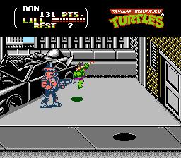 Teenage Mutant Ninja Turtles : The Arcade Game - NES (Ultra Software Corp - Konami, 1990)