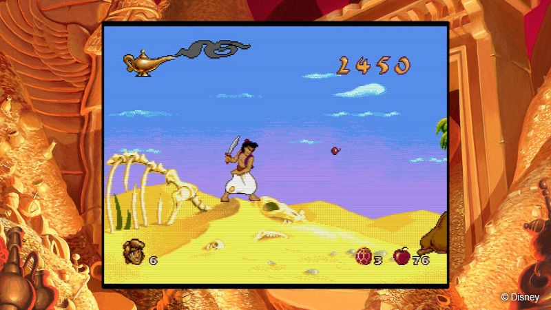 Disney Classic Games : Aladdin And The Lion King - PS4 (Disney Interactive Games, 2019)