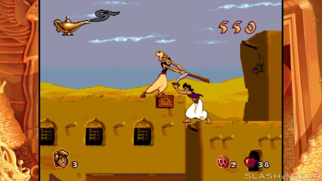 La version Megadrive d'Aladdin
