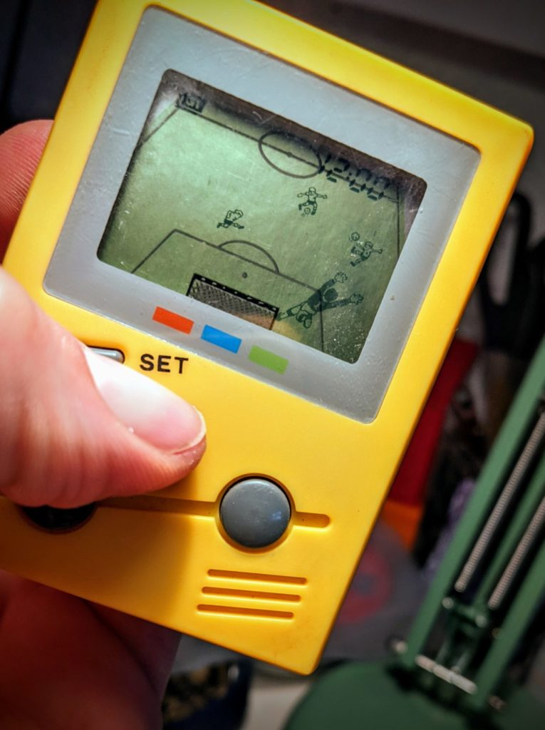 Toy Island - LCD Video - Soccer, 1991