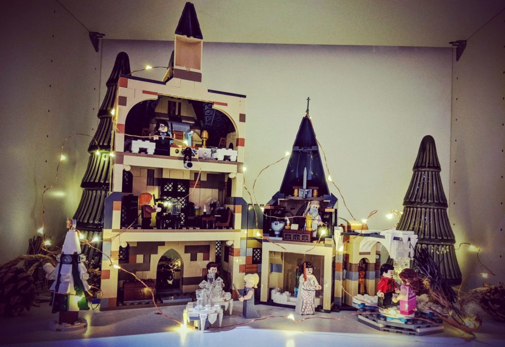 Le Château de Poudlard version Noël (LEGO)