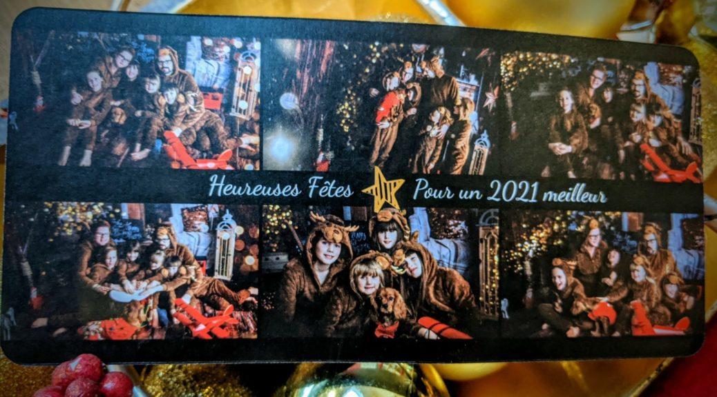 Carte de Noël 2020 - Petite Snorkys Photography