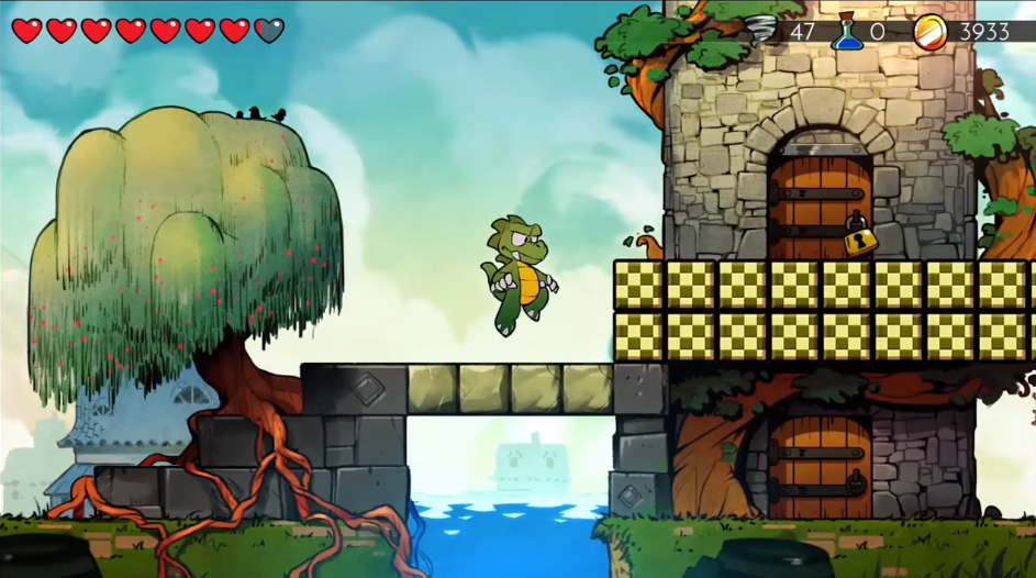 Wonder Boy And The Dragon's Trap