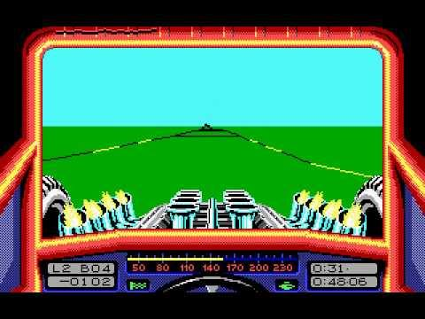 Stunt Car Racer - PC MS-DS (Microprose, 1989)