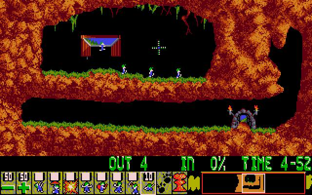 Lemmings - PC/MS DOS (Psygnosis - DMA Design, 1991)