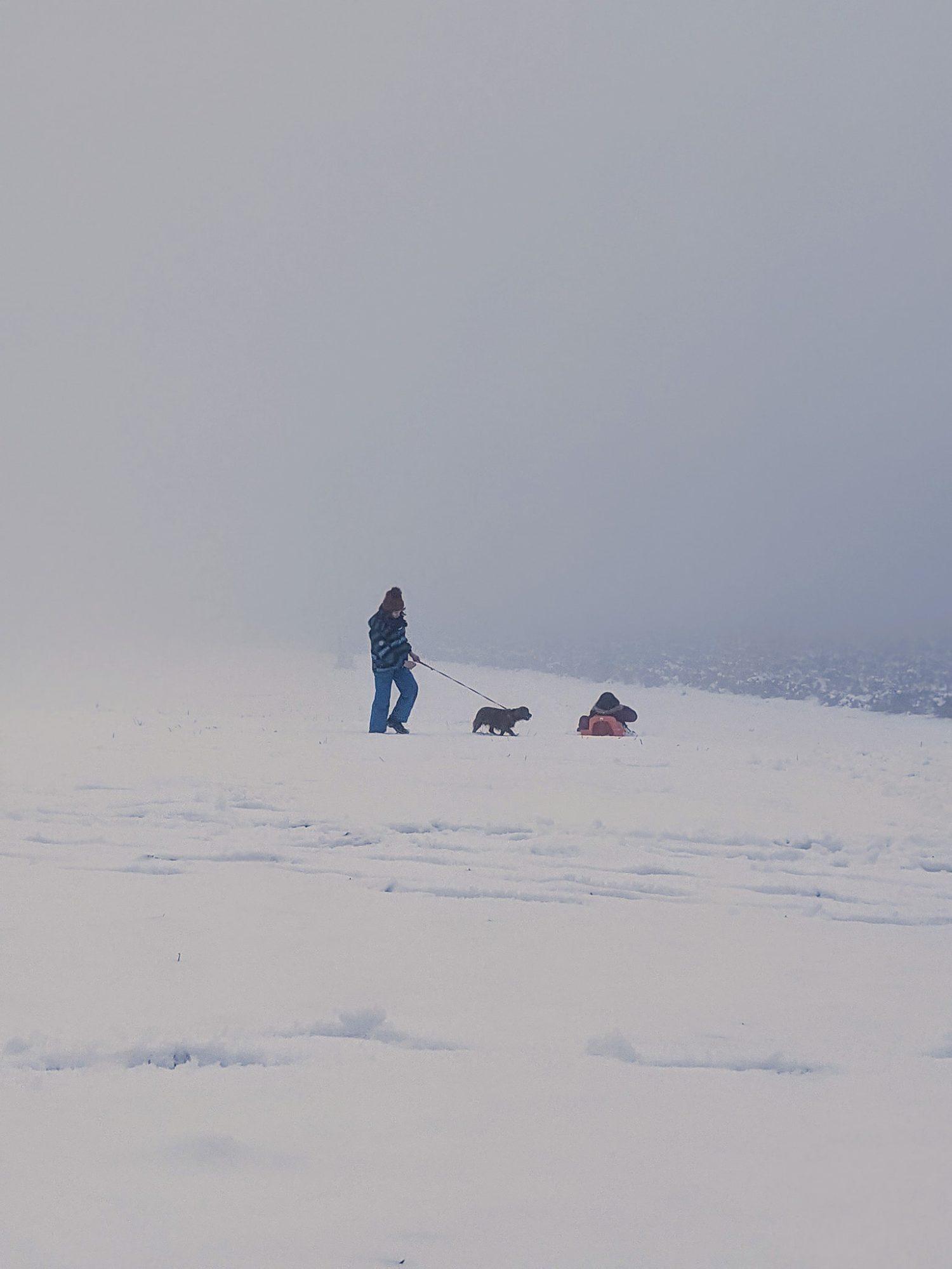 A 20 minutes, la neige est toujours bien là !