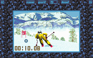 Super Ski Pro - PC MS-DOS (Microïds, 1994)
