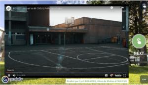 Vidéo de présentation de la direction + Une visite interactive avec interviews des enseignants !