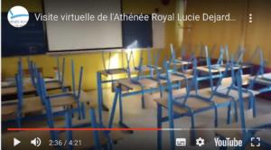 Vidéo de présentation classique, mais un effort a été mis en place pour donner de l'espace aux élèves et professeurs