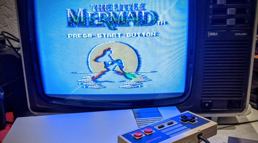 La petite sirène version NES