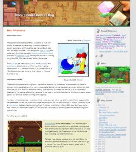 Les aventures de Bilou, un projet qui aura bientôt 30 ans et que le frangin continue à faire vivre sur la Nintendo DS