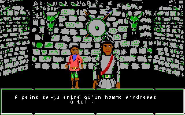Le Labyrinthe d'Errare - PC MS-DOS (Retz, 1989)