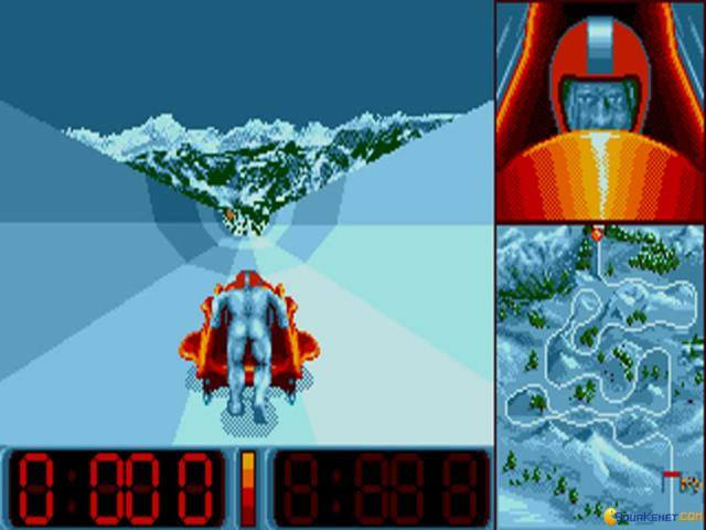 Super Ski 2 - PC MS-DOS (Microïds, 1992)