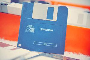 La disquette de Super Ski