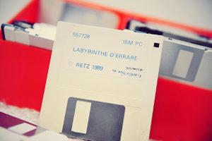 La disquette du Labyrinthe d'Errare (Retz, 1989)