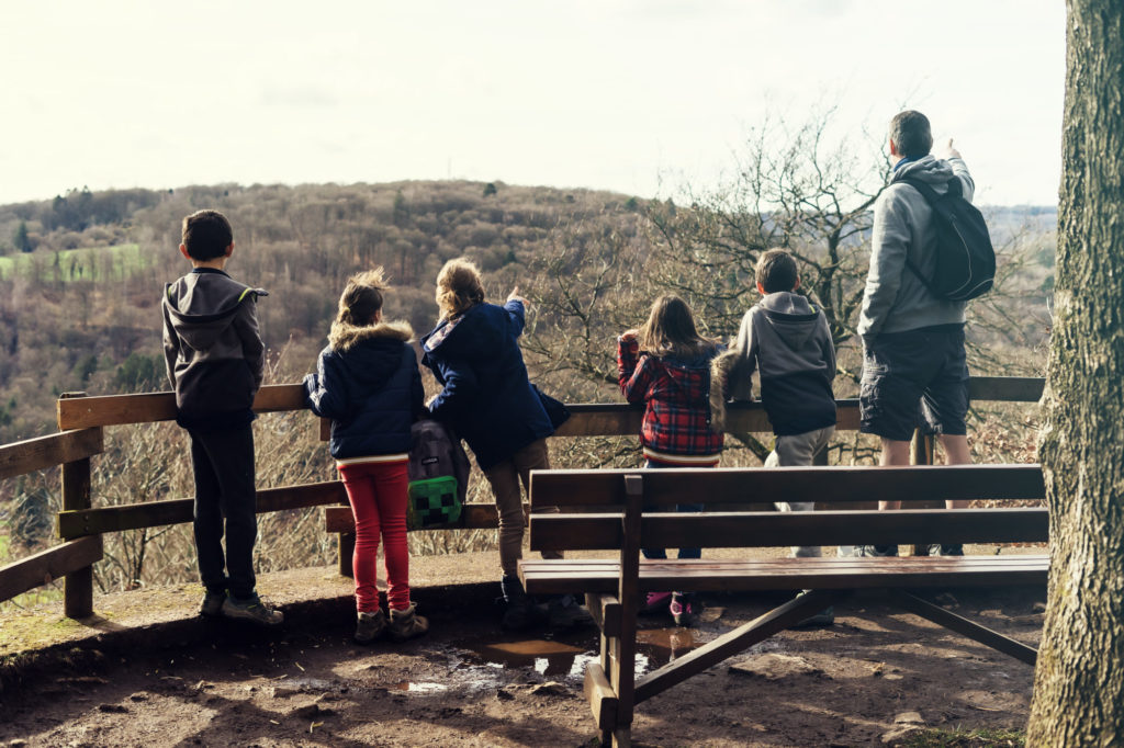 Petite balade sur les hauteurs de Mery avec nos amis
