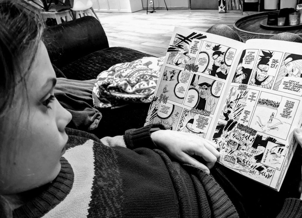 Charly voulait découvrir des Mangas !