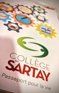 Rendez-vous pour sa prochaine aventure de grand au Collège du Sartay !