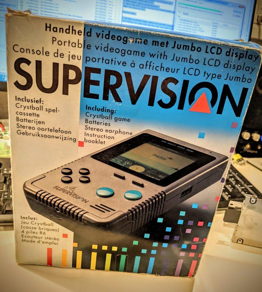 Une Super Vision en parfait état avec son packaging d'origine !