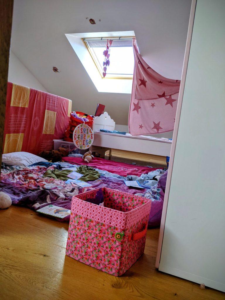 Quand elles ont rangé leur chambre...