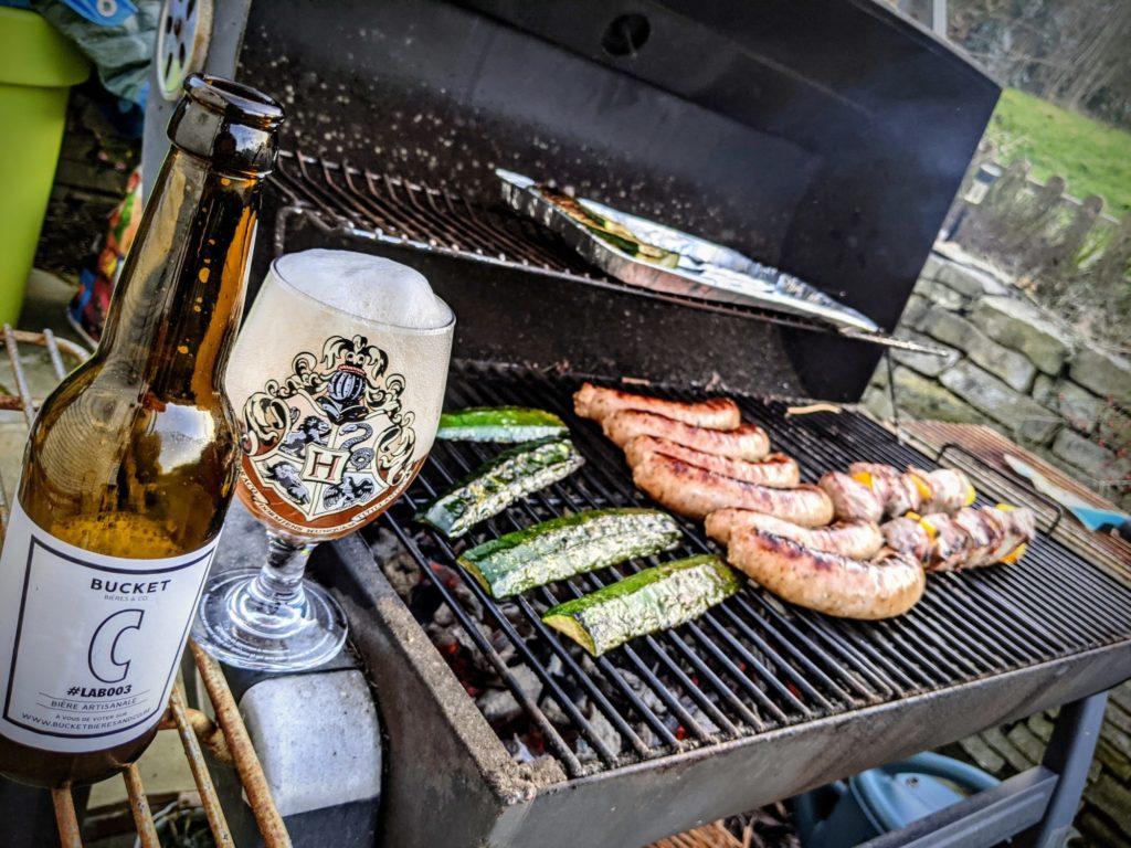 Déjà le premier barbecue de l'année !