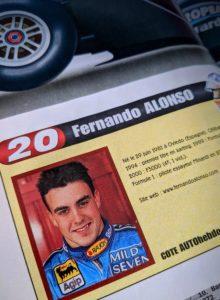 2001, il y a 20 ans, les débuts de Fernando Alonso