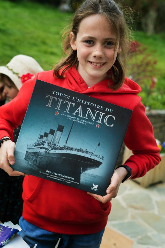 Oh, merci Rory, Titanic, un sujet qui passionne Charly depuis plusieurs mois !