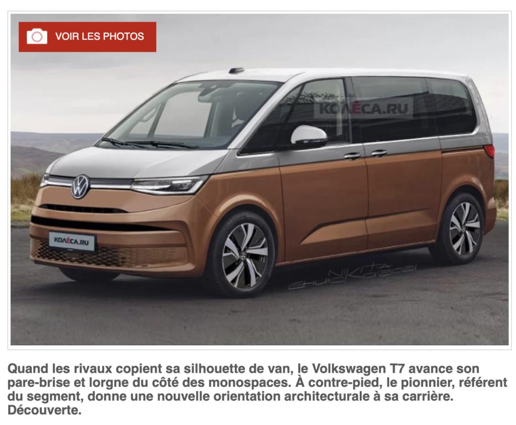 Le nouveau VW Multivan T7 ?