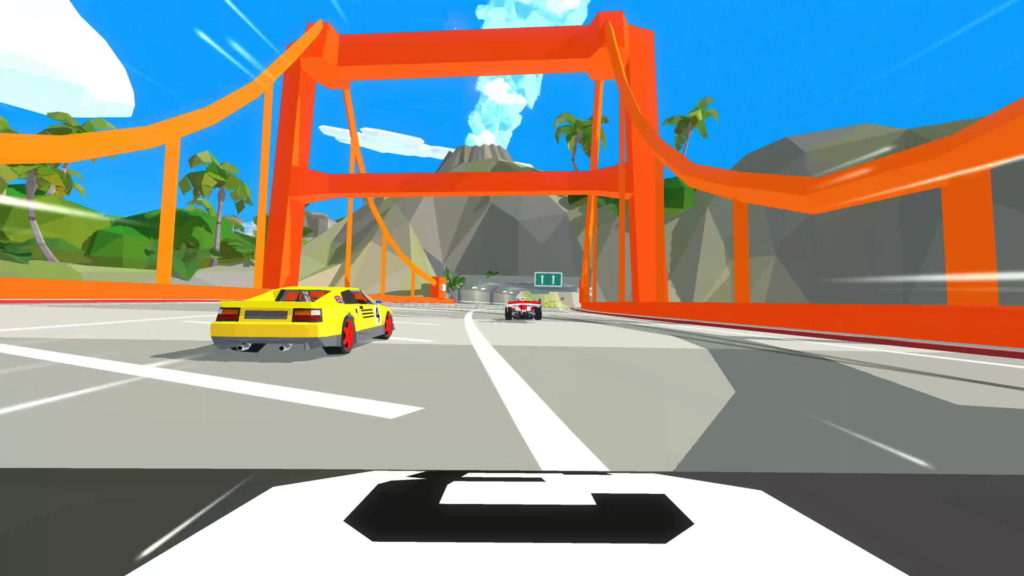 Hotshot Racing, LE pont de Virtua Racing : )