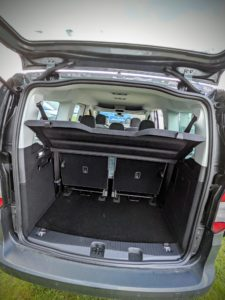 Dans le nouveau Caddy Maxi Life, le rang 3 se découpe en 2 sièges distincts