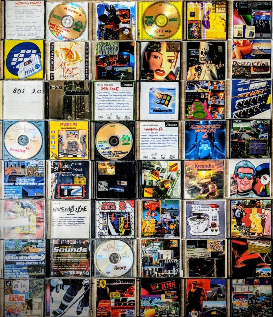 Graveur CD - Année 90