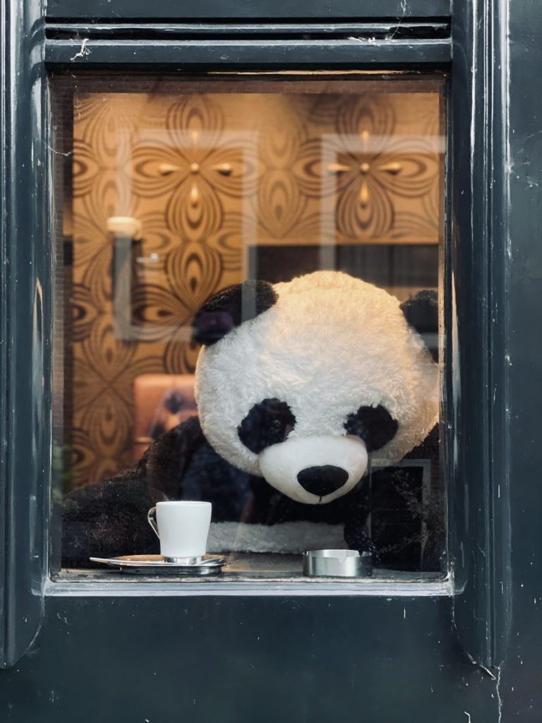Hey, Alice, on t'a même trouvé un Panda à Amsterdam.