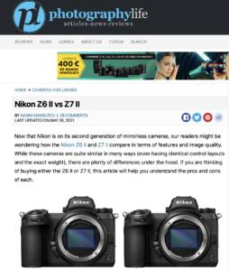 Nikon Z6 II vs Z7 II - Photographylife.com