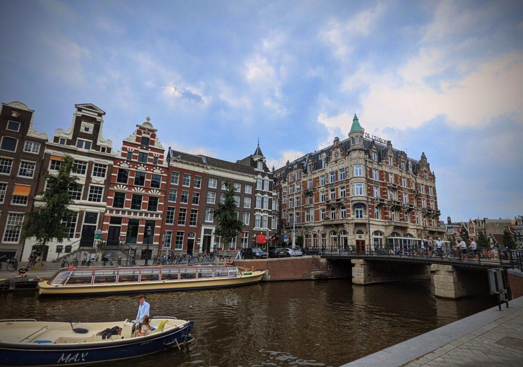 Petite balade dans le quartier des canaux d'Amsterdam.