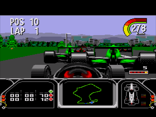 Newman/Haas IndyCar featuring Nigel Mansell - SNES (Acclaim - Gremlin, 1994)