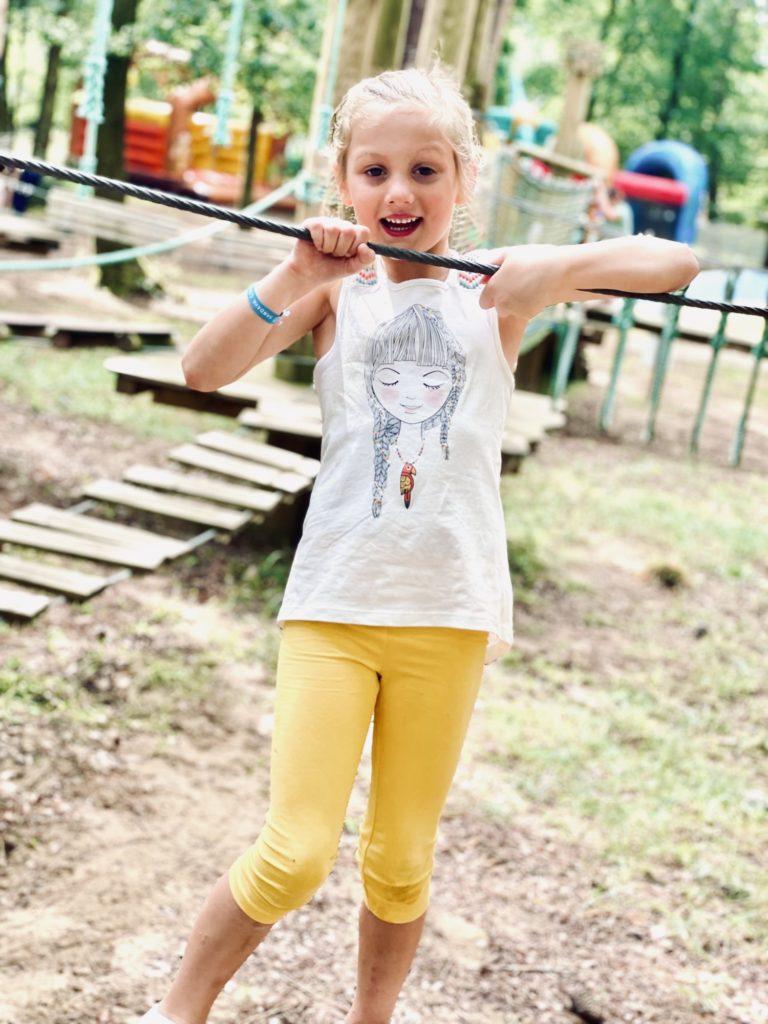 L'espace enfant du camping Sandaya - L'orée du Bois