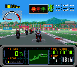 GP 1 - SNES (Altus - Genki, 1993)