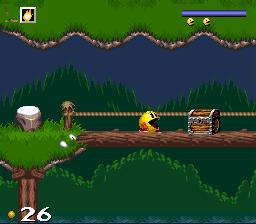Pac in Time - SNES (Namco - Atreid Concept, 1995)