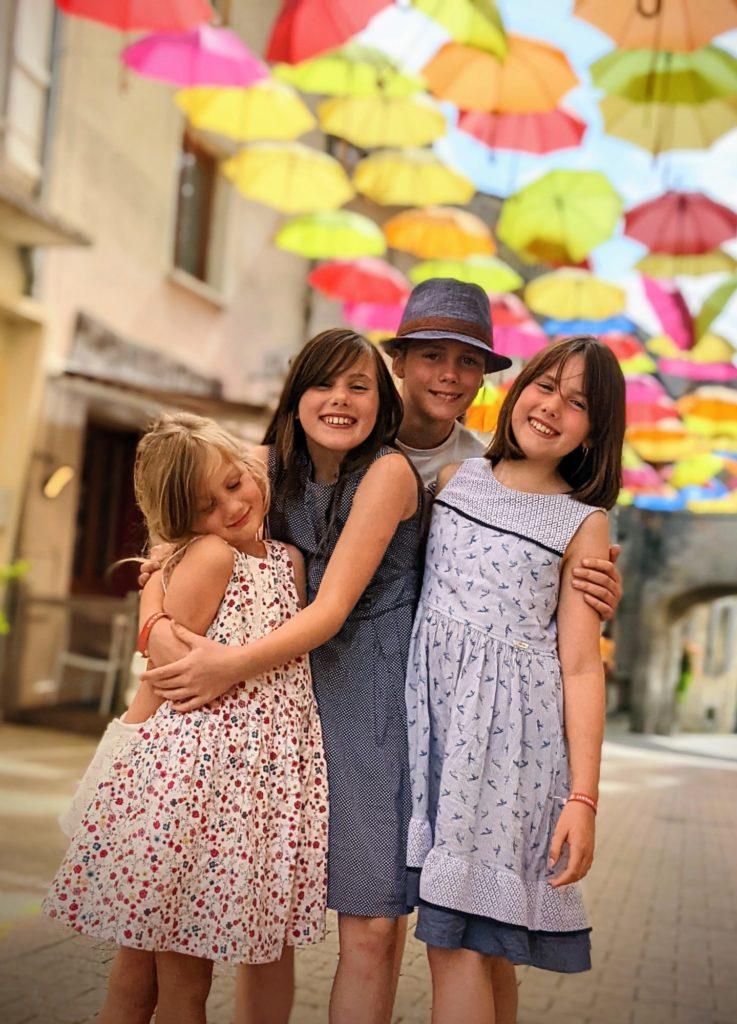 Sous les parapluies de Jonzac