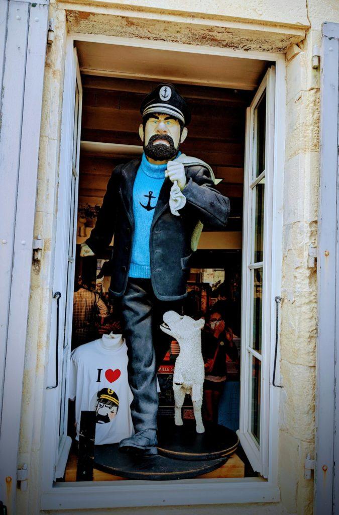 Il parait que c'est le plus grand magasin dédié à Tintin - Saint-Martin en Ré