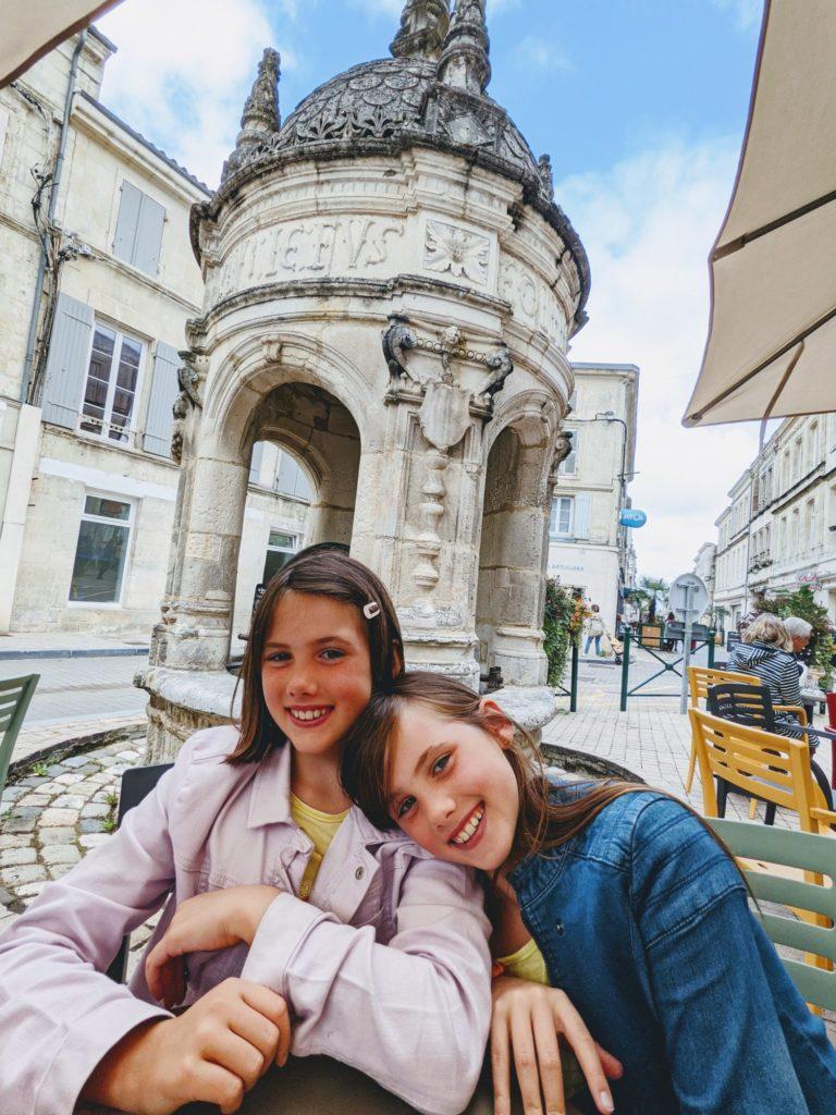 Dernière étape à Saint-Jean D'Angély