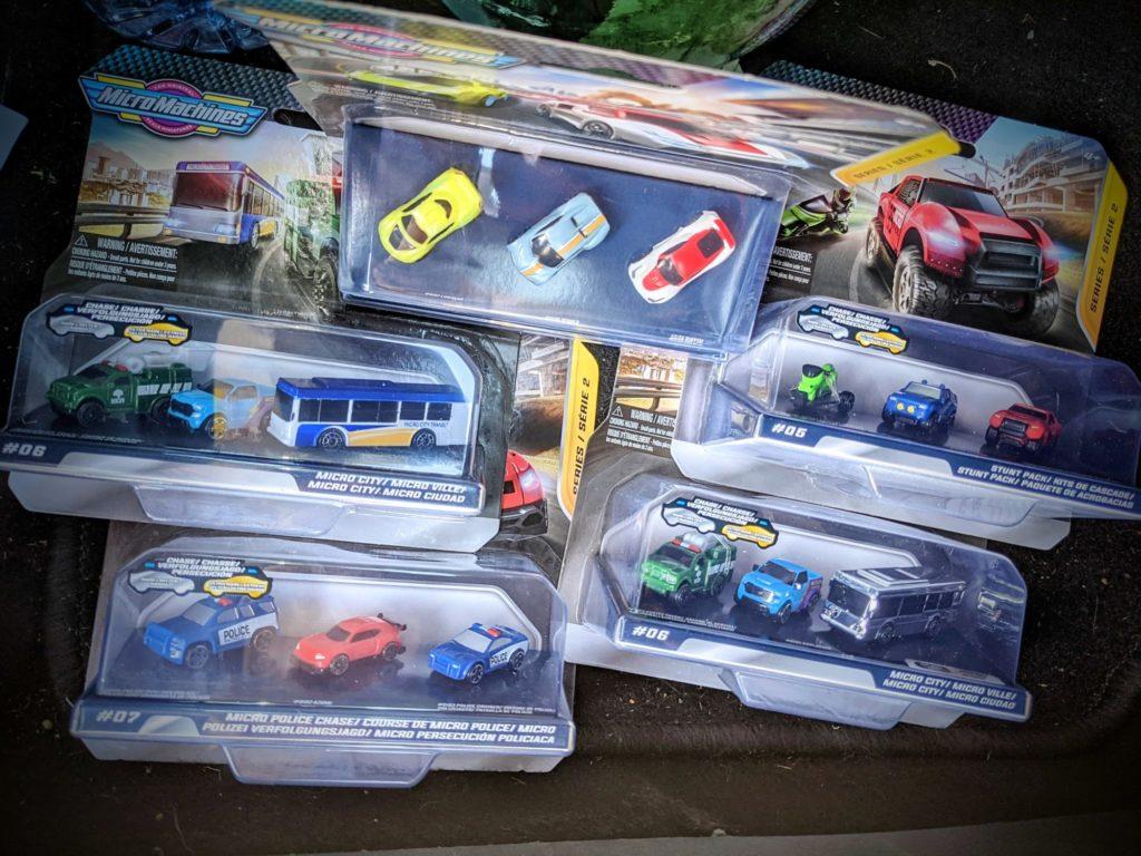 Les Micro Machines S2 sont arrivées chez Maxi Toys